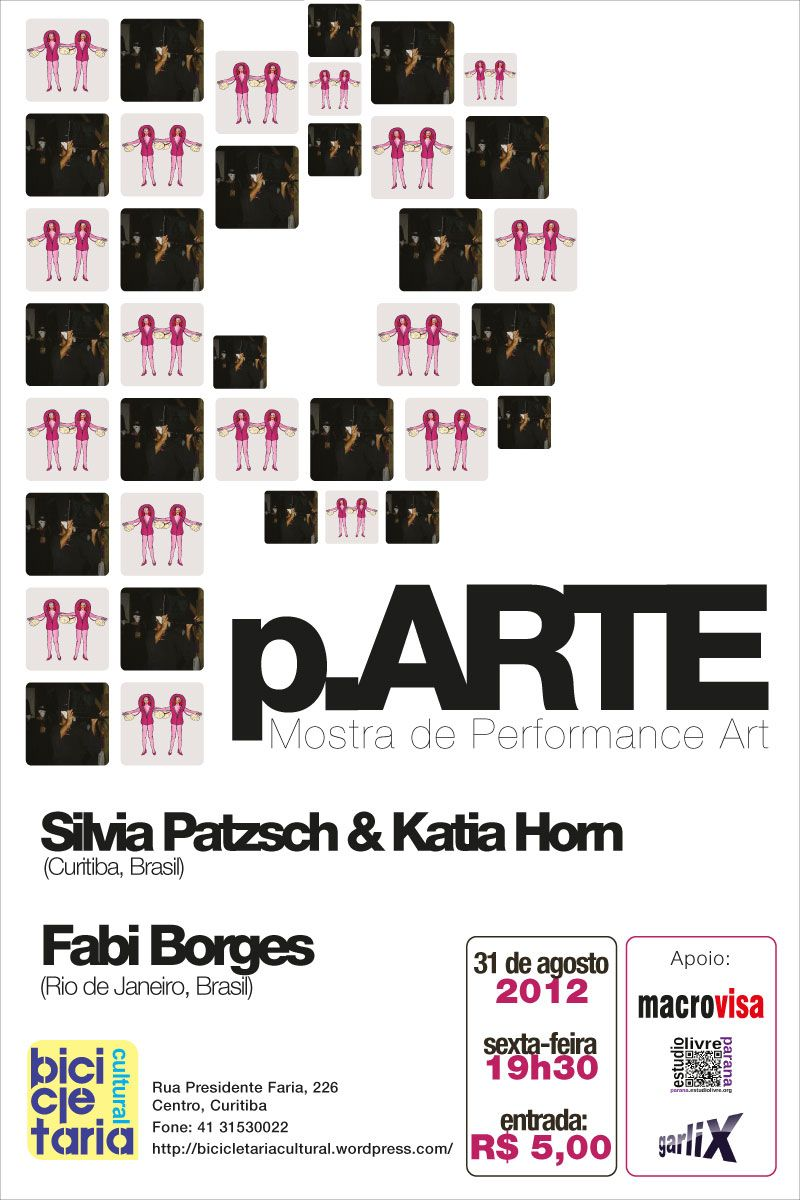 Poster of 4nd p.ARTE edition | Aug 2012