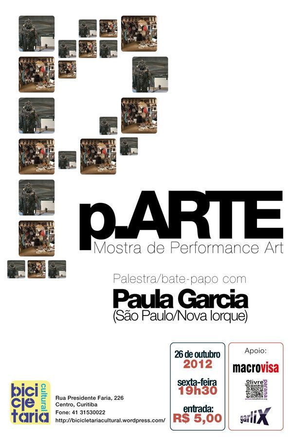 Poster of 6th p.ARTE edition | October 2012