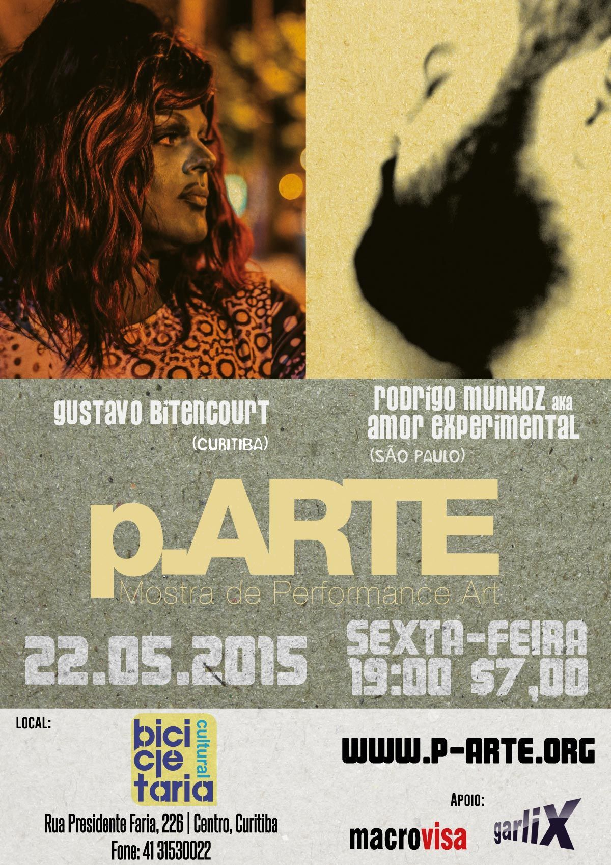 Poster of 21st p.ARTE edition | May 2005