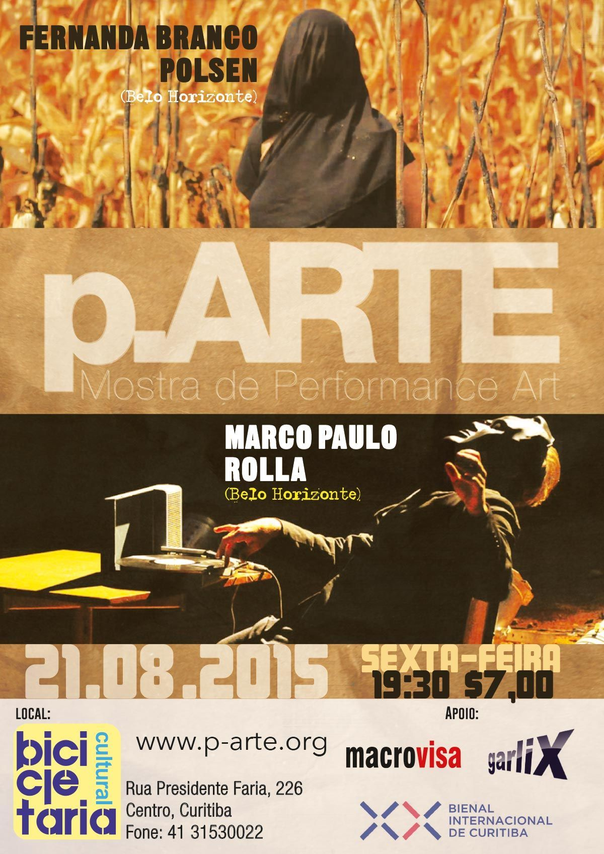 Poster of 24th p.ARTE edition